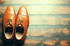 Zapatos masculinos Fotografía de archivo