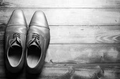 Zapatos masculinos Fotos de archivo