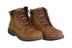 Zapatos masculinos Fotografía de archivo libre de regalías