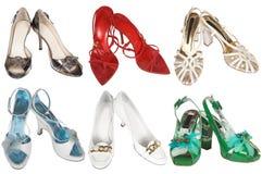 Zapatos modernos de moda Imagen de archivo libre de regalías