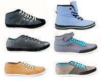 Zapatos modernos del deporte Fotos de archivo libres de regalías
