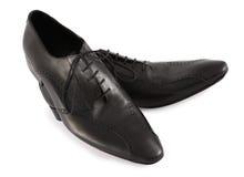 Zapatos modernos del mens imagen de archivo
