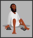 Zapatos musulmanes de la religión Imagen de archivo libre de regalías