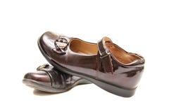 Zapatos negros Foto de archivo