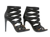 Zapatos negros libre illustration