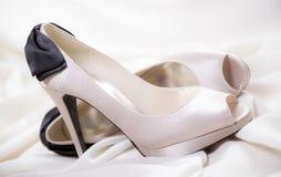 Zapatos nupciales Imagen de archivo