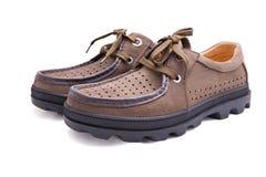 Zapatos ocasionales del hombre Imagen de archivo libre de regalías