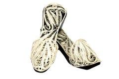Zapatos orientales imágenes de archivo libres de regalías