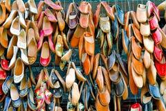 Zapatos orientales fotografía de archivo