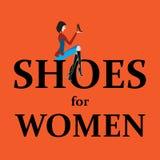 Zapatos para las mujeres Foto de archivo libre de regalías