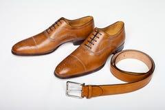 Zapatos para los hombres Fotos de archivo