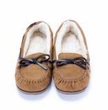 Zapatos peludos Fotos de archivo