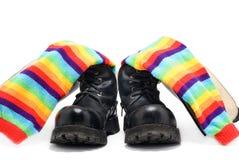 Zapatos pesados Foto de archivo libre de regalías