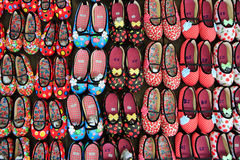 Zapatos preciosos del diseño Foto de archivo libre de regalías