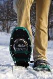 Zapatos/raquetas de la nieve Foto de archivo libre de regalías