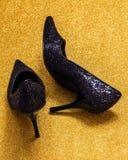 Zapatos relucientes Fotografía de archivo libre de regalías