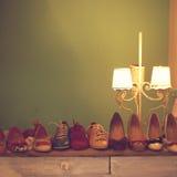 Zapatos retros Imagenes de archivo