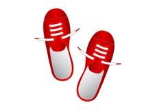 Zapatos rojos libre illustration