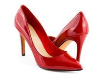 Zapatos rojos Imagen de archivo