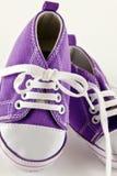 Zapatos rojos del cabrito Fotografía de archivo