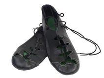 Zapatos suaves irlandeses del baile Fotos de archivo libres de regalías