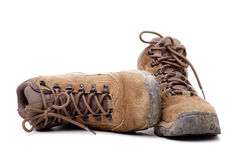 Zapatos sucios Fotos de archivo