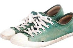 Zapatos usados Imagen de archivo libre de regalías