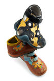 Zapatos usados de los niños Imagen de archivo libre de regalías