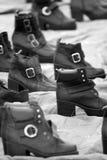 Zapatos viejos. Fotografía de archivo libre de regalías