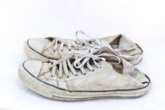 Zapatos viejos fotografía de archivo libre de regalías