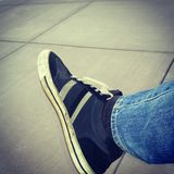 Zapatos viejos Foto de archivo