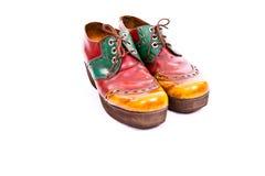 Zapatos viejos Fotos de archivo libres de regalías