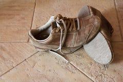 Zapatos viejos Fotos de archivo