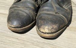 Zapatos viejos Imagenes de archivo