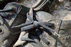 Zapatos viejos Foto de archivo libre de regalías