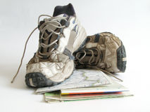 Zapatos viejos Fotografía de archivo