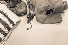 Zapatos y accesorios basque del baile del estilo del equipo del partido del festival del verano del feria de la tradición cultura Fotografía de archivo libre de regalías