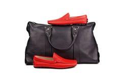 Zapatos y bag-2 Foto de archivo libre de regalías