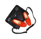 Zapatos y bag-26 Imágenes de archivo libres de regalías
