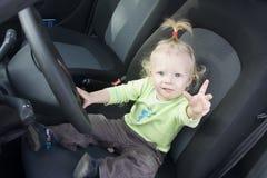 zapewneni kierowcy jaźni potomstwa Fotografia Royalty Free