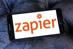 Zapier公司商标 免版税库存图片