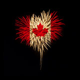 zapina Canada dzień ikony ustawiać Powitanie Kanada Zdjęcie Royalty Free