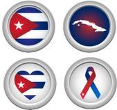 zapina Cuba Zdjęcia Stock