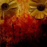 zaplamiająca kwiatów papieru plama Zdjęcie Royalty Free