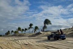 Zapluskwiony jeździec w Natal plaży Zdjęcie Stock