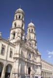 Zapopan basilica, jalisco, mex. Picture of the basilica of zapopan in guadalajara, jalisco, mexico Royalty Free Stock Photo