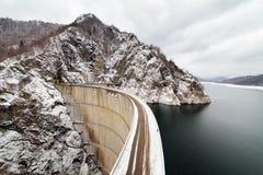 Zapora jezioro Vidraru Zdjęcie Stock