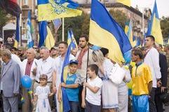 ZAPORIZHIA, UKRAINE - 24 août 2016 : Photos libres de droits