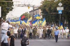 ZAPORIZHIA, UKRAINE - 24 août 2016 : Photographie stock libre de droits