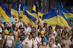 ZAPORIZHIA, UKRAINE - 24 août 2016 : Images stock